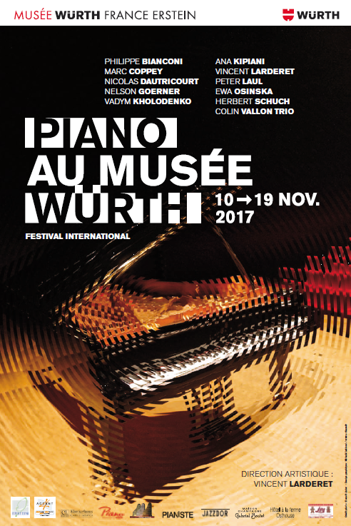 "Brochure bilingue FR / DE ""Piano au Musée Würth"" 2017"