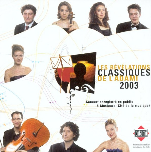 Live CD of ADAMI 2003 Classical Revelations