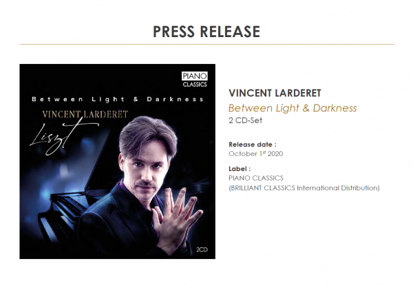 LISZT 2CD-Set PRESS RELEASE